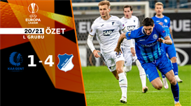 ÖZET | Gent 1-4 Hoffenheim