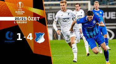 ÖZET   Gent 1-4 Hoffenheim
