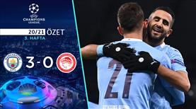 ÖZET | Manchester City 3-0 Olympiakos