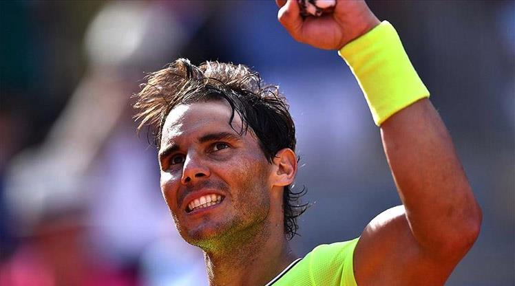 """Nadal """"1000'ler kulübü""""ne girdi"""