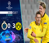 ÖZET | Club Brugge 0-3 Borussia Dortmund