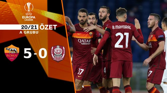 ÖZET | Roma 5-0 CFR Cluj