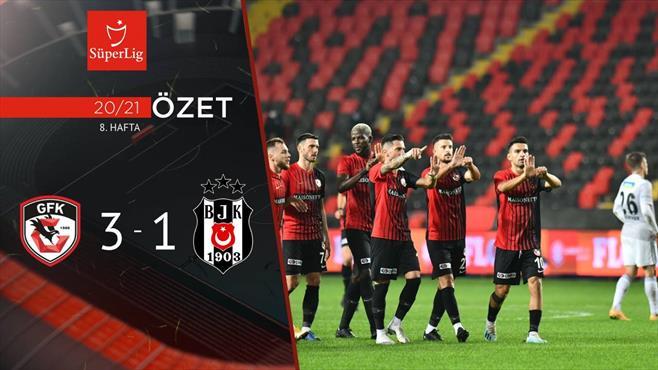 ÖZET | Gaziantep FK 3-1 Beşiktaş