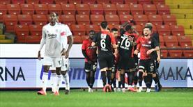 Gaziantep FK yeniden öne geçti