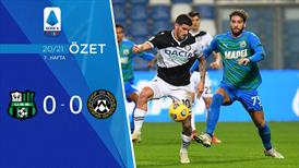 ÖZET | Sassuolo 0-0 Udinese