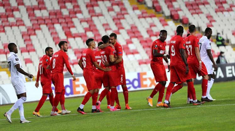 Sivasspor, Avrupa'da 11 yıl sonra kazandı