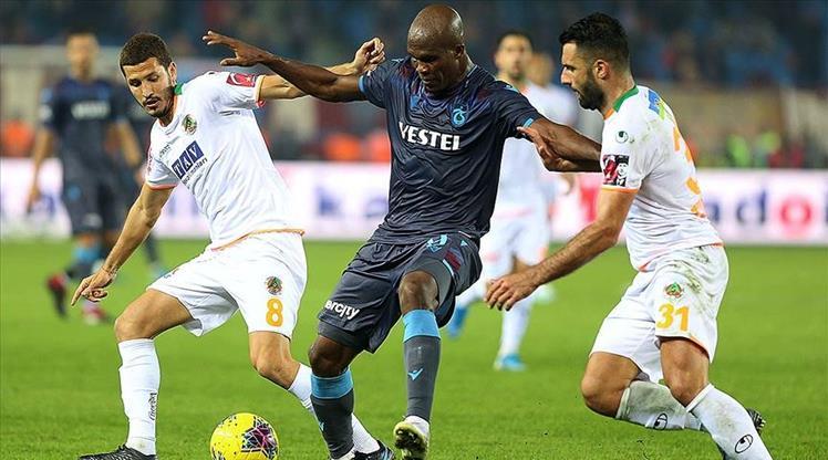 Trabzonspor, A. Alanyaspor deplasmanında
