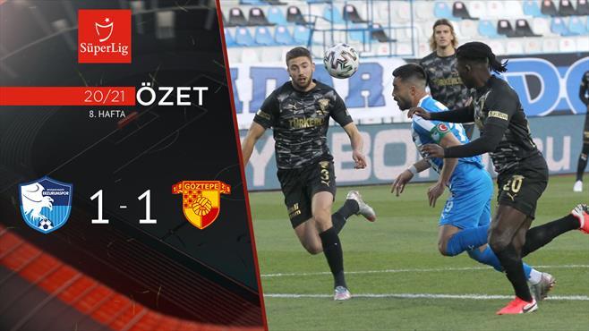 ÖZET   BB Erzurumspor 1-1 Göztepe