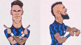 Inter'in tişörtlerine Türk imzası