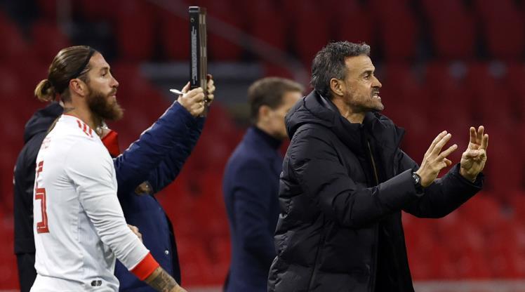 Enrique, Ramos'u savundu