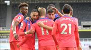 Chelsea, Newcastle'dan galip dönüyor