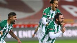 İH Konyaspor galibiyete 89. dakikada uzandı