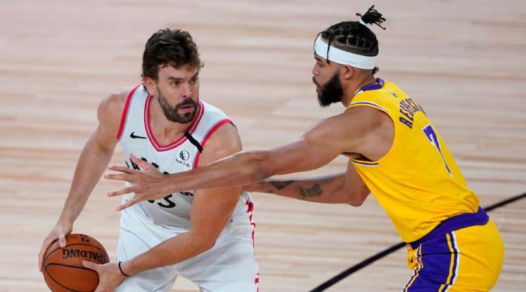 Marc Gasol, Lakers'ta!
