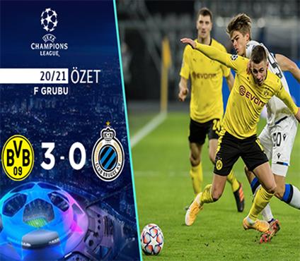 ÖZET | Borussia Dortmund 3-0 Club Brugge