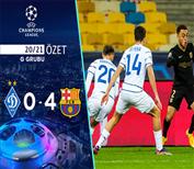 ÖZET   Dinamo Kiev 0-4 Barcelona