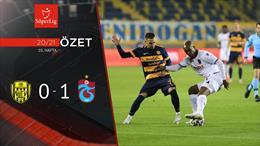ÖZET | MKE Ankaragücü 0-1 Trabzonspor