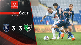 ÖZET | M. Başakşehir 3-3 Y. Denizlispor