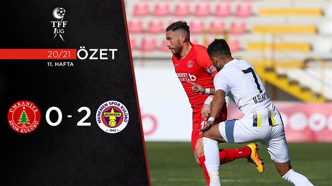 ÖZET | BS Ümraniyespor 0-2 Menemenspor