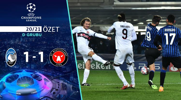 ÖZET | Atalanta 1-1 Midtjylland