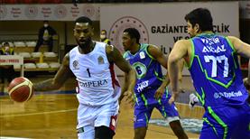 Gaziantep Basketbol son çeyrekte kazandı