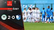 ÖZET | İH Konyaspor 2-0 BB Erzurumspor