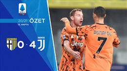 ÖZET   Parma 0-4 Juventus