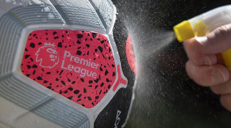 Premier Lig'de 7 koronavirüs vakası