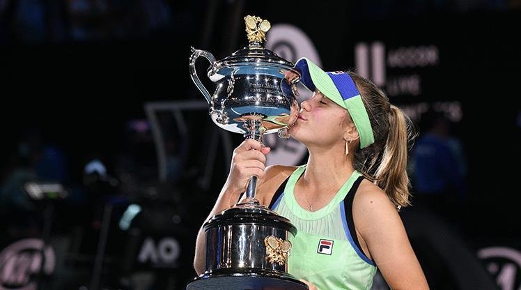 Avustralya Açık'ta şampiyon Kenin