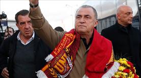 Galatasaray'a tezahüratlı karşılama