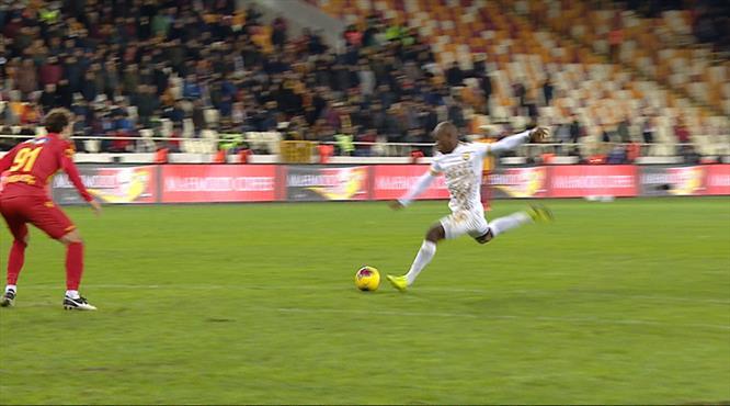 İşte Ankaragücü'ne galibiyeti getiren gol