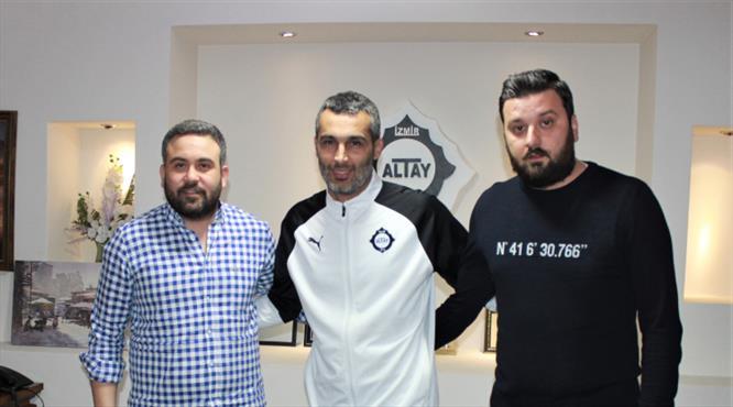 Altay'ın yeni sportif direktörü belli oldu