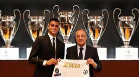 R. Madrid, Reinier'i basına tanıttı