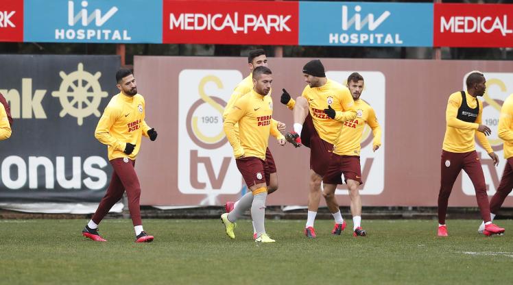 Galatasaray hazırlıklarını Lemina'sız sürdürdü