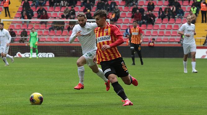 HK Kayserispor - İH Konyaspor: 2-2 (ÖZET)