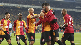 Fenerbahçe - Galatasaray: 1-3 (ÖZET)