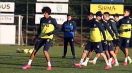 Fenerbahçe'de FTA Antalyaspor mesaisi