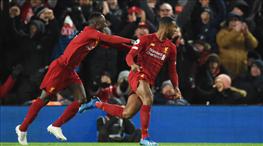 Liverpool'dan muhteşem geri dönüş