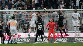 Beşiktaş Aytemiz Alanyaspor karşısında