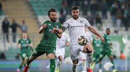 Bursaspor - Altay: 2-2 (ÖZET)