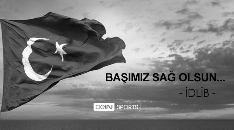 Türk futbolu, İdlib şehitlerinin yasını tutuyor