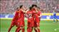 Bayern gol oldu yağdı, pankart maçı gölgede bıraktı