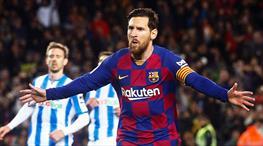 Barça, Messi ile kazandı