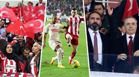 DG Sivasspor-Galatasaray maçından en özel kareler burada