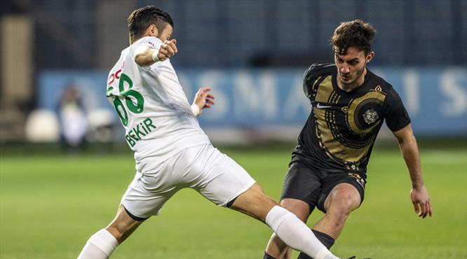 Osmanlıspor: 1- Giresunspor: 1 (ÖZET)