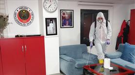 Gençler'in tesisleri dezenfekte edildi