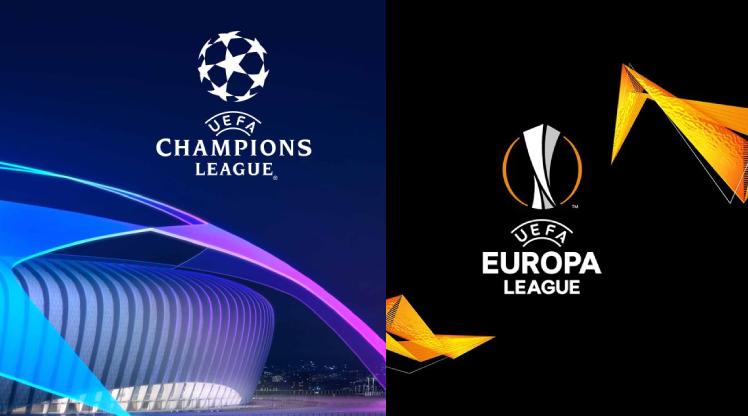 Şampiyonlar Ligi ve Avrupa Ligi askıya alındı