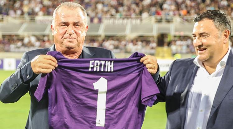 Fiorentina'dan Fatih Terim mesajı