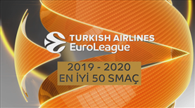 Turkish Airlines EuroLeague'de TOP 50 smaç!