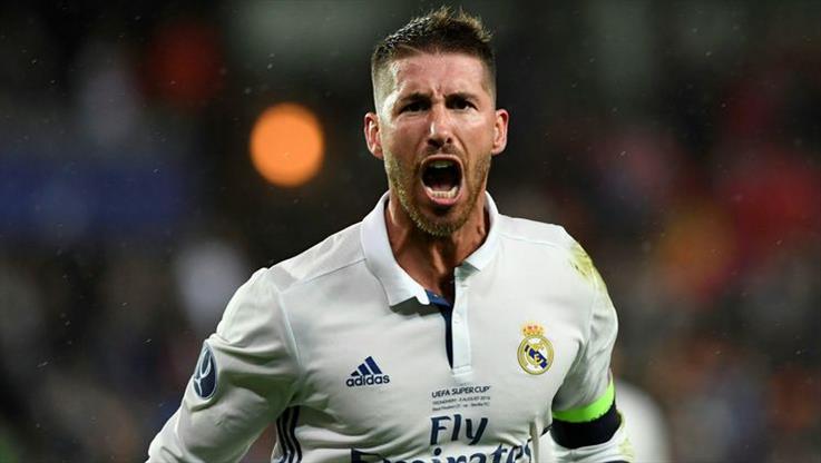 Alkışlar Sergio Ramos'a