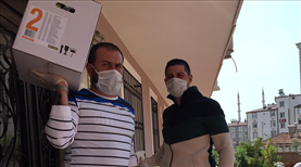 FTA Antalyasporlulardan yaşlılara destek